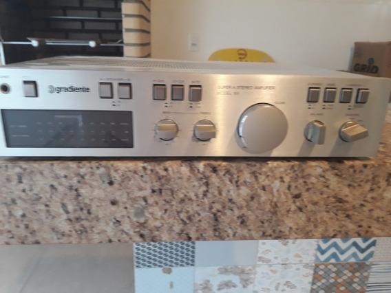 Amplificador Gradiente 166 No Estado Para Consertar
