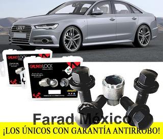 Tuercas Seguridad Audi A6 Sline Galaxylock Envío Gratis