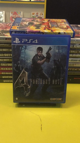 Resident Evil 4 Mídia Física Á Pronta Entrega