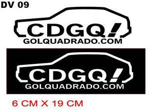 Adesivo Clube Do Gol Quadrado.adesivo Cdgq,gol Quadrado.club