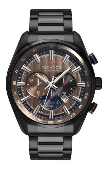 Relógio Technos Masculino Grandtech Preto Os20hmj/4m