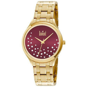 Relógio Dumont Feminino Du2036lst/4n