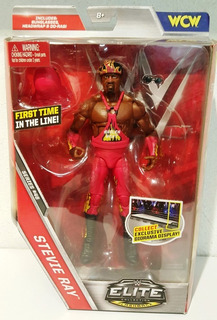 Wwe Mattel Elite Serie 46 Stevie Ray The Harlem Heat