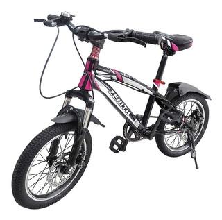 Bicicleta Infantil Niño Niña Rin # 16 Pul Junior 5 A 10 Año