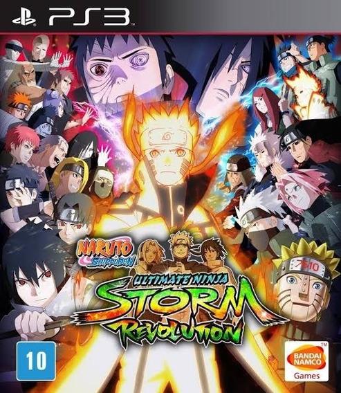 Naruto Shippuden Revolution (ps3) Jogo Inglês Play3 Comprar