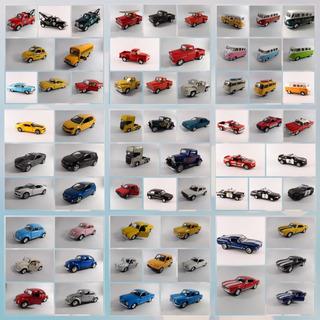 Miniatura Coleção Carrinhos Kit Com 5