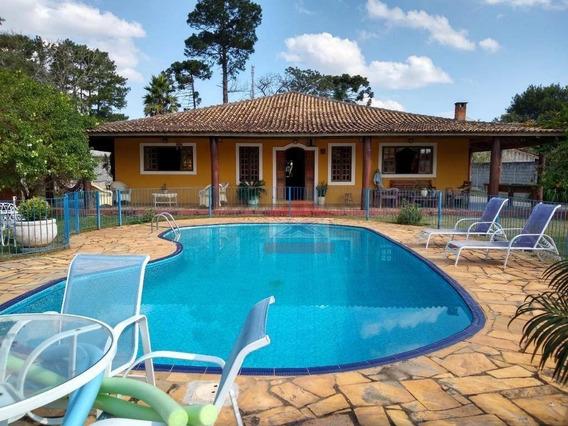 Chácara Com 5 Dormitórios À Venda, 1800 M² Por R$ 550.000 - Chácara Remanso (caucaia Do Alto) - Cotia/sp - Ch0299
