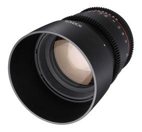 Rokinon 85mm T1.5 Cine Ds Lens Para Sony E-mount