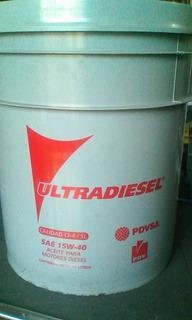 Aceite Maxidiesel 15w40 & 50 Pailas 19 Litros