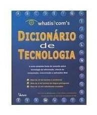Livro Dicionário De Tecnologia Whatis. Com