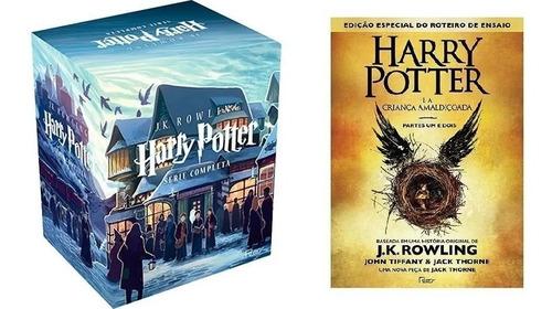 Box Coleção Harry Potter (7 Livros )+ A Criança Amaldiçoada