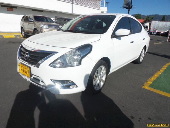 Nissan Versa Advance Mt 1600 Aa