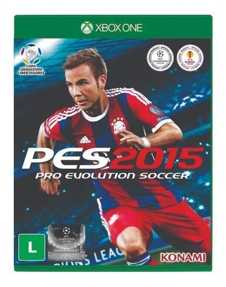 Pro Evolution Soccer 2015 - Xbox One- Midia Fisica - Lacrado
