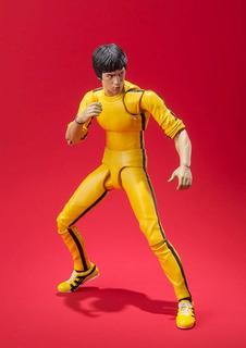 S.h. Figuarts Bandai - Bruce Lee Yellow Track Suit *en Mano