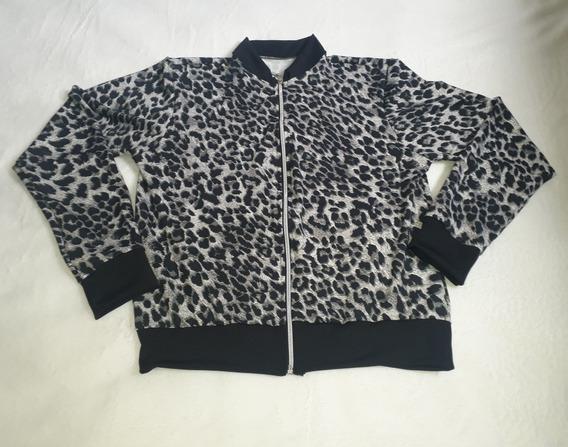 Blusa Casaco Jaqueta Animal Print Feminina Barato