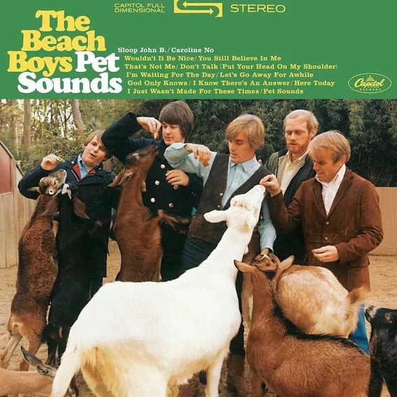 Beach Boys Pet Sounds Vinilo Estereo Nuevo Cerrado En Stock