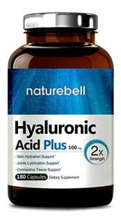 Ácido Hialuronico Plus 180 Pastillas Articulaciones Piel Usa