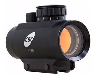 Luneta Cbc Mira Holografica Red Dot 1x30