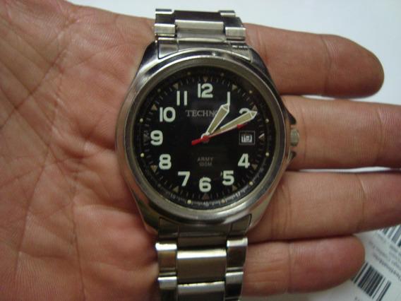 Relógio Technos Army Militar Calendário Quartz 42mm Bonitão!