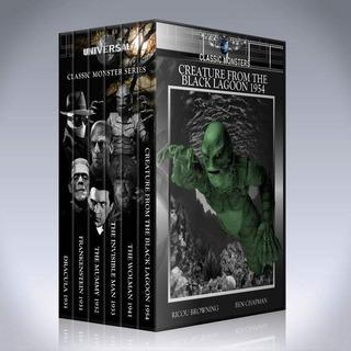 Dvd Classic Monster Collection Peliculas Colección