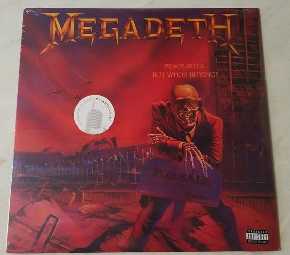 Lp Megadeth Peace Sells Importado Lacrado Pronta Entrega