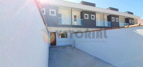 Imagem 1 de 13 de Lindo Sobrado 2 Dormitórios Pontal Santa Marina - So0368
