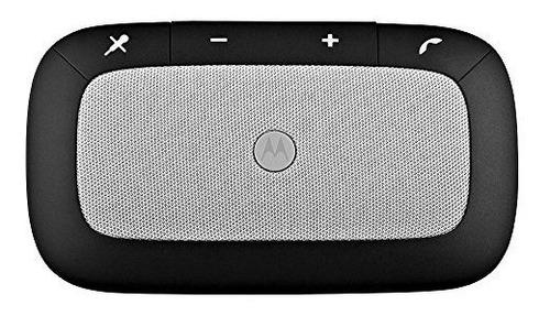 Imagen 1 de 3 de Altavoz Motorola Con Bluetooth Y De Color Negro