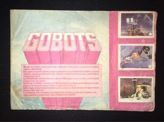 Álbum Figuritas Gobots - Casi Completo