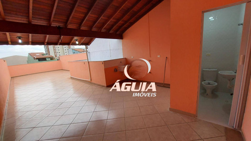 Cobertura Com 2 Dormitórios À Venda, 69m² + 69m² Por R$ 436.500 - Vila Pires - Santo André/sp - Co0936