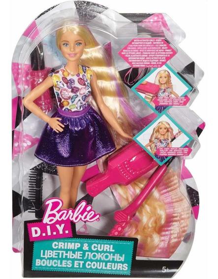 Barbie Cabelo Ondas E Cachos Mattel