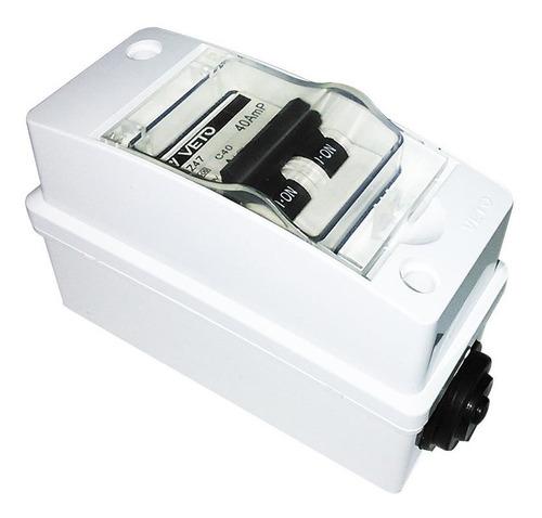 Breaker Termomagnetico 50amp - 110v Ref Pow500 Forte By Veto