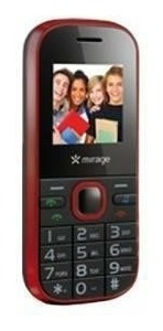 Celular P3114 2chips Pop Vermelho Multilaser Mirage