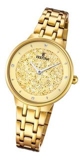 Reloj Festina Mademoiselle Swarovski F20383 + Envio Gratis