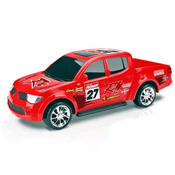 Caminhonete Pick-up Rx Rally Mitsubishi - Roma Brinquedos