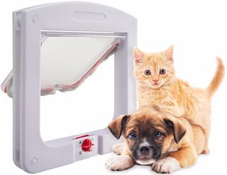 Pack 2 Puertas Mascota Perro / Gato Patio / M. O. + Envio