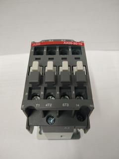 Contactor Tripolar Abb Ax09 1 Na 9 Amp Bobina 220v