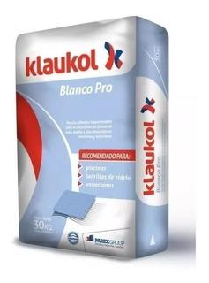 Pegamento Klaukol Blanco- Pro 30 Kg