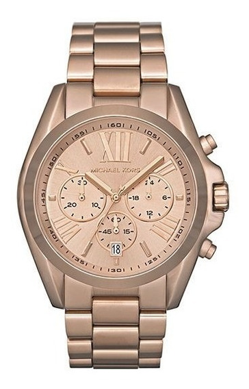 Relógio Mk Michael Kors Rosé Mk5503/4xn Original