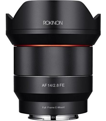 Lente Rokinon Af 14mm F2.8 Sony E-mount C/ Recibo