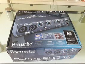 Interface De Áudio Focusrite Pro 14
