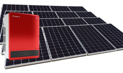 Imagen 1 de 4 de Kit 14 Paneles Solares 370w Completo - 1340kwh Bimestral