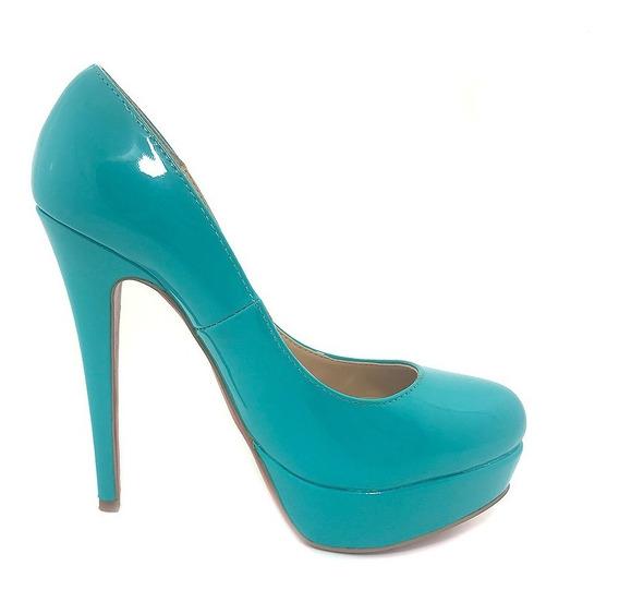 Zapatos De Fiesta Fucsia Stilettos Importados