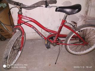 Bicicleta Rodado 20 Playera Poco Uso Casi Nueva