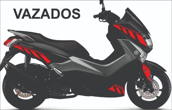 Kit Adesivos Yamaha Nmax 160 Faixas_1 (+ Brinde)