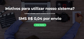 Pacote 10.000 Sms Marketing R$ 400,00