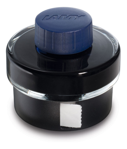 Tintero 50ml. Tinta Color Negro Azul - Lamy