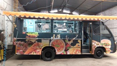 Food Truck Microonibus Onibus (montagem Sem O Veículo)