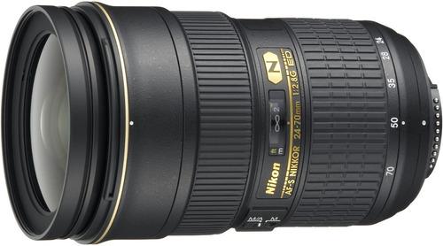 Lente Nikon Af-s Nikkor 24-70mm F/2.8 G Ed