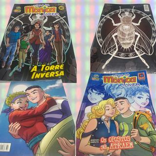 Turma Da Mônica Jovem Quadrinhos - Combo 10 Revistas Hqs