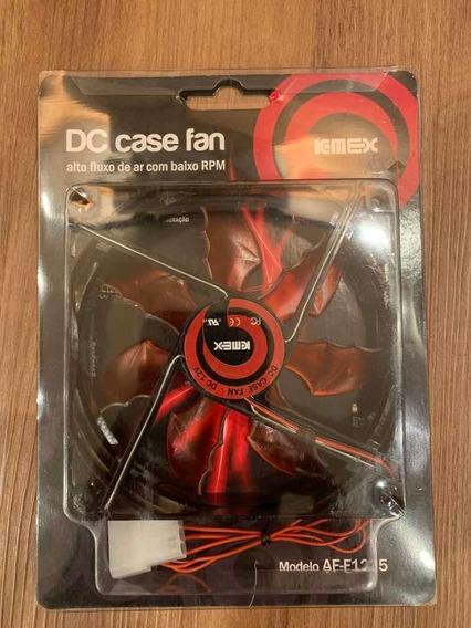 Cooler / Fan Para Gabinete K-mex Af-f1225 Vermelho